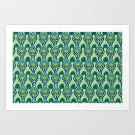 Peacock Feather Print Art Print