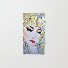 Sensual Romantic Contemplative Feminine Figure Hand & Bath Towel