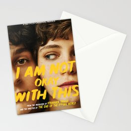 I Am Not Okay With This Stationery Cards