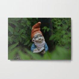 Gartenzwerg - Garden Gnome - Goblin Metal Print