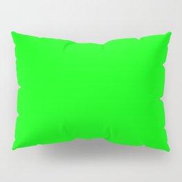 Lime Green Pillow Sham