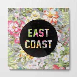 East Coast Metal Print