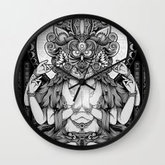 Sacred Ascetic Wall Clock