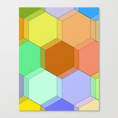 Hello Honeycomb  Canvas Print