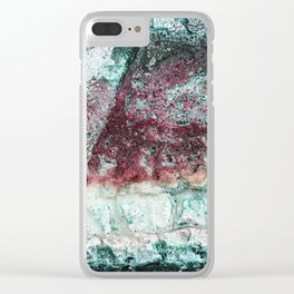 Beach Vibe in Pink Clear iPhone Case