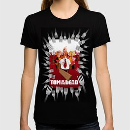 Tom of the Dead (Shaun of the Dead parody) poster T-shirt
