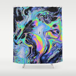 REST MY CHEMISTRY Shower Curtain