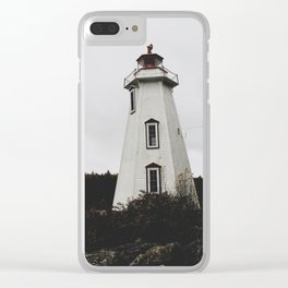 Big Tub Lighthouse Clear iPhone Case