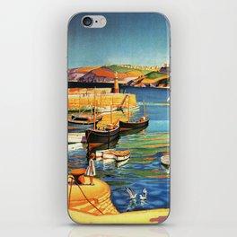 Vintage St. Ives Cornwall England Travel iPhone Skin