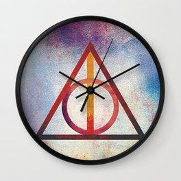 Deathly Hallows - Light Wall Clock