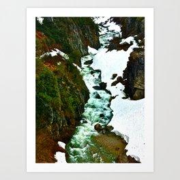 Alaskan Creek Art Print