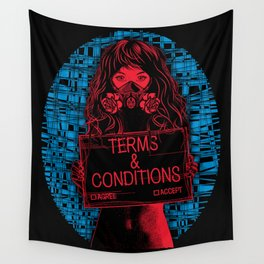 Terms and Conditions Wall Tapestry