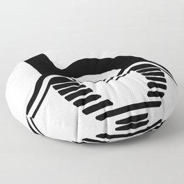 b is for briesmonis Floor Pillow