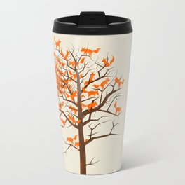 Blazing Fox Tree Travel Mug