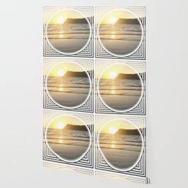 Port Erin - circle/line Wallpaper