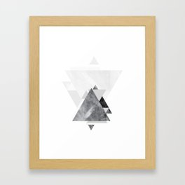 GEOMETRIC SERIES II Framed Art Print
