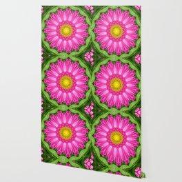 Kaleidoscope Aster Wallpaper