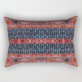 Heritage Traditional Oriental Geometric Moroccan Style  Rectangular Pillow