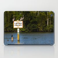 manatee iPad Cases featuring Manatee Zone by Roger Wedegis