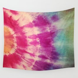 Dye layers Wall Tapestry