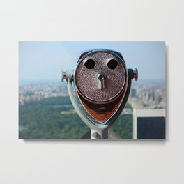 new york city ... distant view II Metal Print