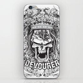Devourer Skull iPhone Skin