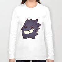 gengar Long Sleeve T-shirts featuring Gengar by Sonny