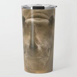 Charging Rhino - Pastel Travel Mug