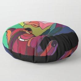 Rainbow Smoker Floor Pillow