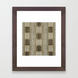 """Ethnic Pattern Natural Color"" Framed Art Print"