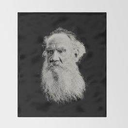 Tolstoy Throw Blanket