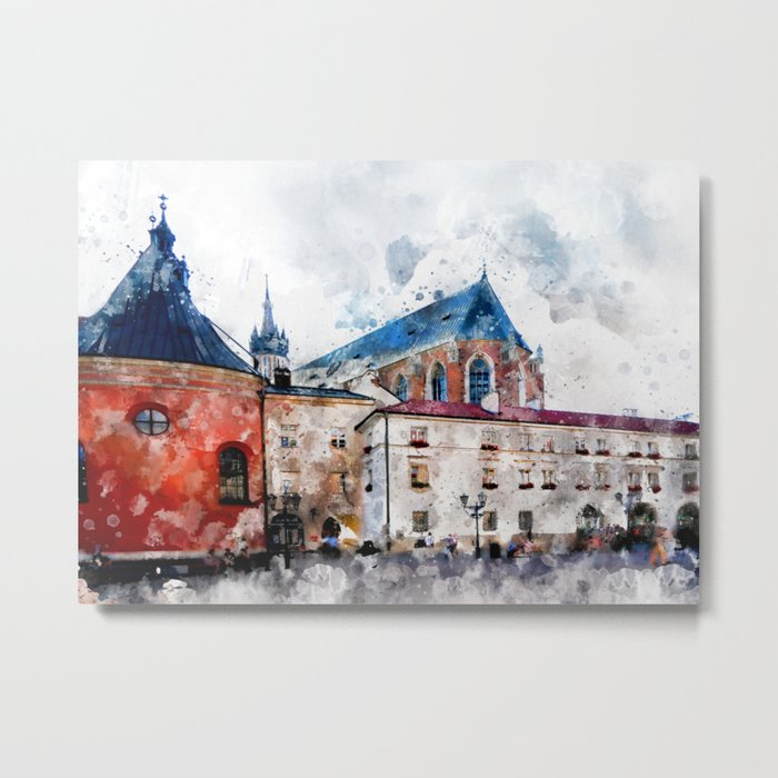 Cracow art 21 #cracow #krakow #city Metal Print