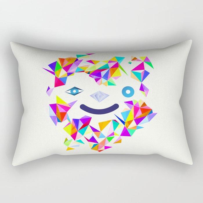 Chromatic character  Rectangular Pillow