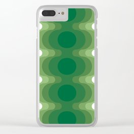Mas Echoes Clear iPhone Case