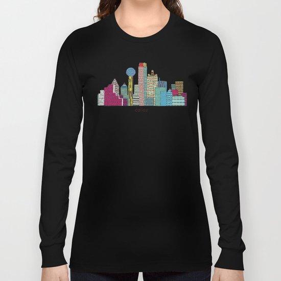 Dallas city  Long Sleeve T-shirt