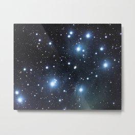 Pleiades (M45) Metal Print