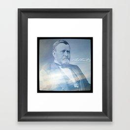 Superstitions. Grant. 1822-1885. Framed Art Print