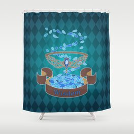 Diadem of Wisdom Shower Curtain
