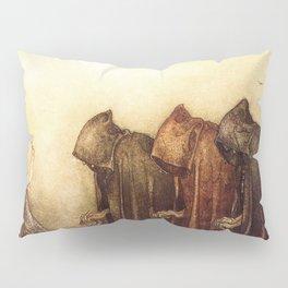 """""""The Golden Key"""" John Bauer Watercolor Pillow Sham"""