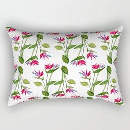 Pink Bird Of Paradise Rectangular Pillow