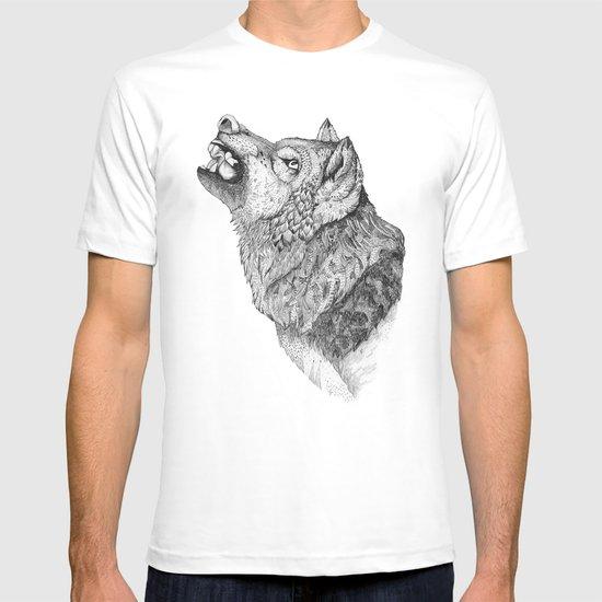 Wolf // Graphite T-shirt
