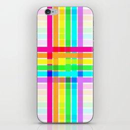 Weaved Rainbow iPhone Skin
