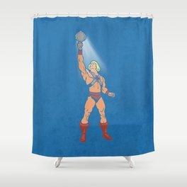 POWER MIRROR Shower Curtain