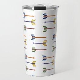 Complimentary Arrows Travel Mug