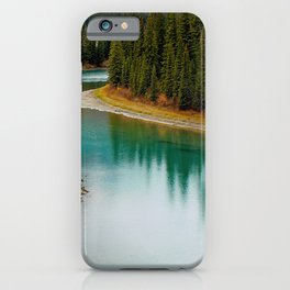 Canada Photography - Beautiful River In Canadian Spruce Forest iPhone Case