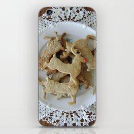 Reindeer Cookies iPhone Skin