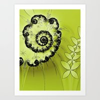 lime Art Prints featuring Lime by Shalisa Photography