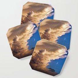 Clouds, Birds, Moon, Venus Coaster