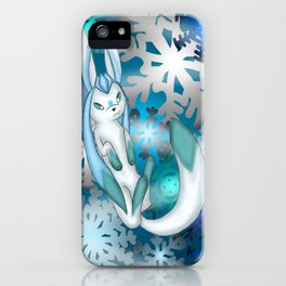 Winter Glaceon iPhone Case