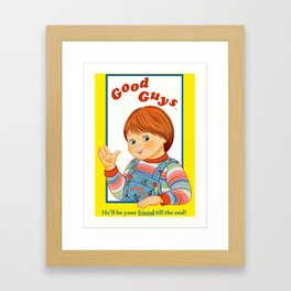 Good Guys / Child's Play / Chucky Framed Art Print